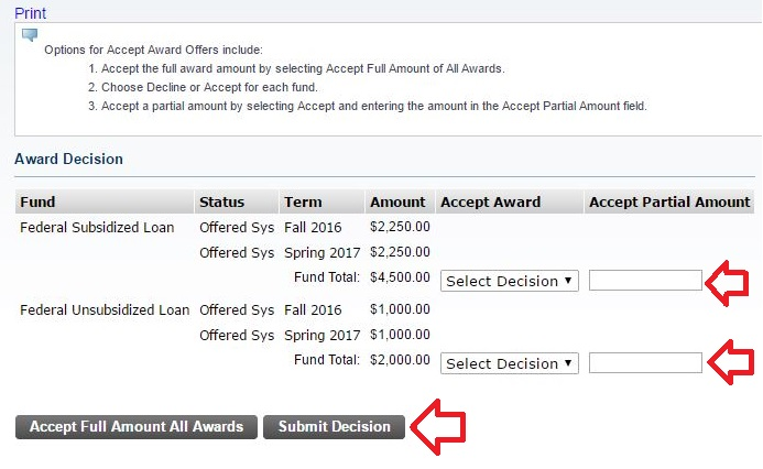 Accepting Loans 6